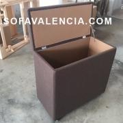Miniatura Principal del Banqueta Puff   Sofá realizado a medida en nuestra Fábrica de Sofás Valencia