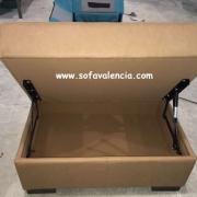 Miniatura 1 del Puff para sofás | Sofá realizado a medida en nuestra Fábrica de Sofás Valencia