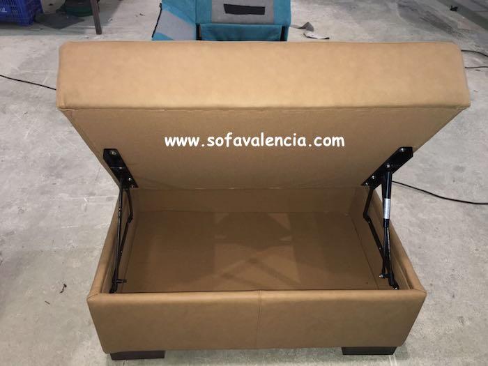 Miniatura 1 del Puff para sofás   Sofá realizado a medida en nuestra Fábrica de Sofás Valencia