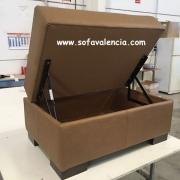 Miniatura 2 del Puff para sofás | Sofá realizado a medida en nuestra Fábrica de Sofás Valencia