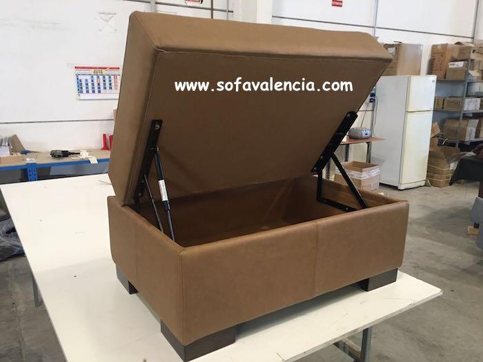 Miniatura 2 del Puff para sofás   Sofá realizado a medida en nuestra Fábrica de Sofás Valencia