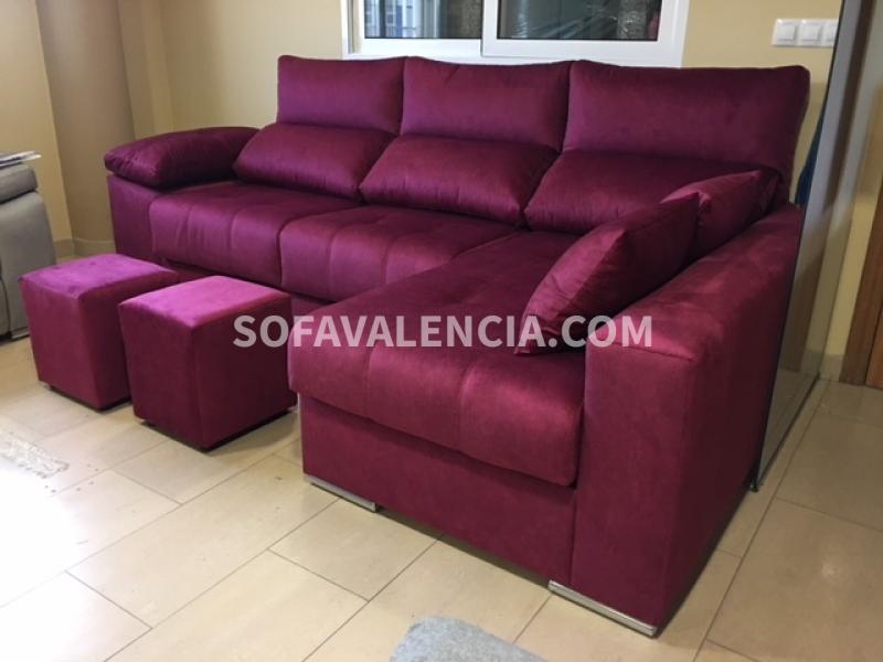 Miniatura 4 del Sofá  Chaise longue Modelo Lenon | Sofá realizado a medida en nuestra Fábrica de Sofás Valencia