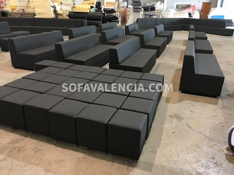 Miniatura 9 del Sofa Entidades Modelo Tetris | Sofá realizado a medida en nuestra Fábrica de Sofás Valencia