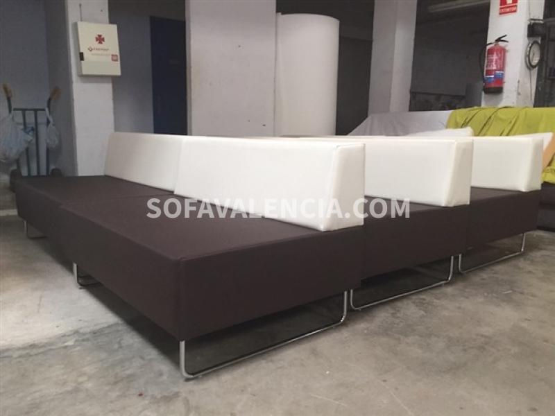 Miniatura 2 del Sofa Entidades Modelo Tetris | Sofá realizado a medida en nuestra Fábrica de Sofás Valencia