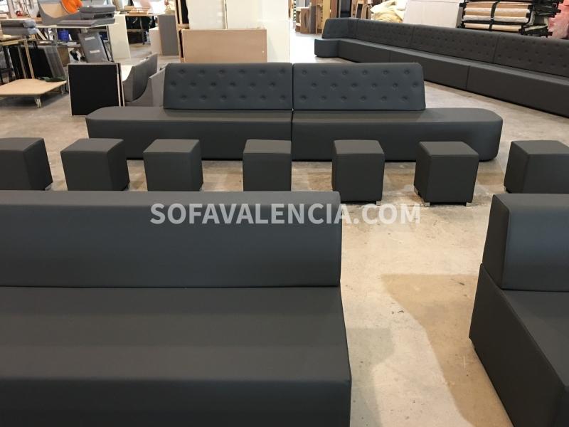 Miniatura 7 del Sofa Entidades Modelo Tetris | Sofá realizado a medida en nuestra Fábrica de Sofás Valencia