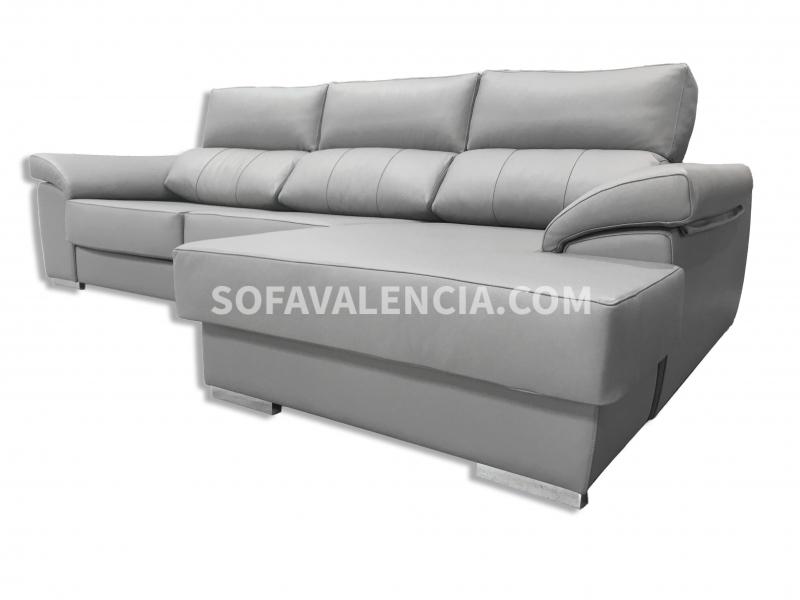 Sofa chaise longue valencia sofa sofas salones kenay home for Sofas valencia baratos