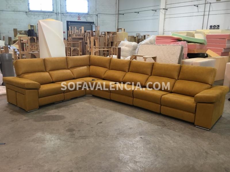 Sof rinconera modelo valencia sof s valencia - Fabricas de sofas en valencia ...