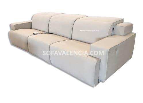 Cat logo sof s valencia sof s valencia for Sofas relax con motor