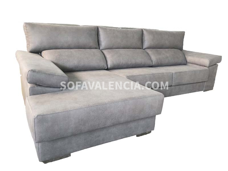 Sofa chaise longue valencia cheap sofa moderno for Sofas baratos madrid outlet