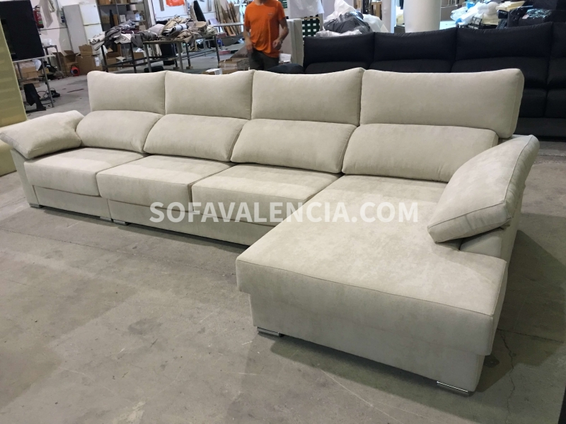 sofa chaise longue valencia gallery of imagen sofa