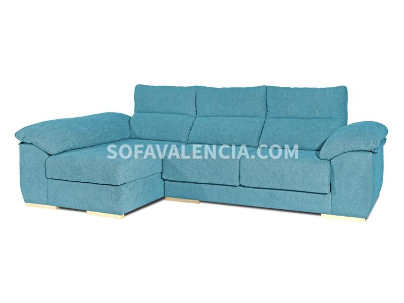 Sofá Chaiselongue Modelo Marco - Sofás Valencia