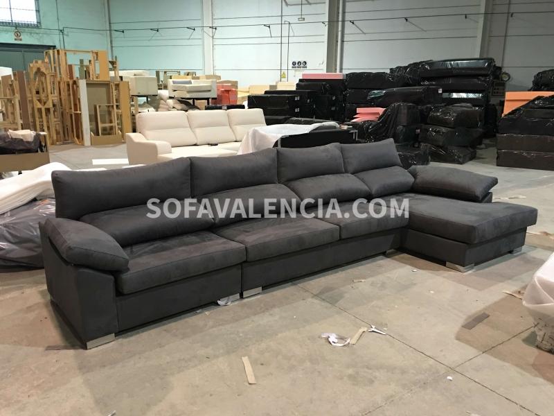 Sof chaiselongue modelo madrid sof s valencia - Fabricas de sofas en valencia ...