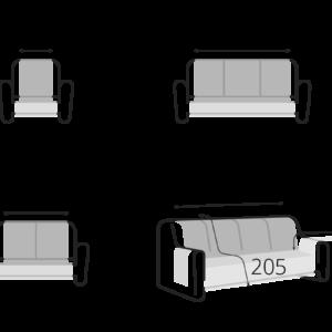 Miniatura 6 del Funda para Sofás 3+2 | Sofá realizado a medida en nuestra Fábrica de Sofás Valencia