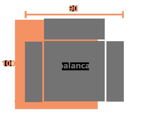 1 plaza 90 PALANCA Modelo Sillón Relax Modelo 303
