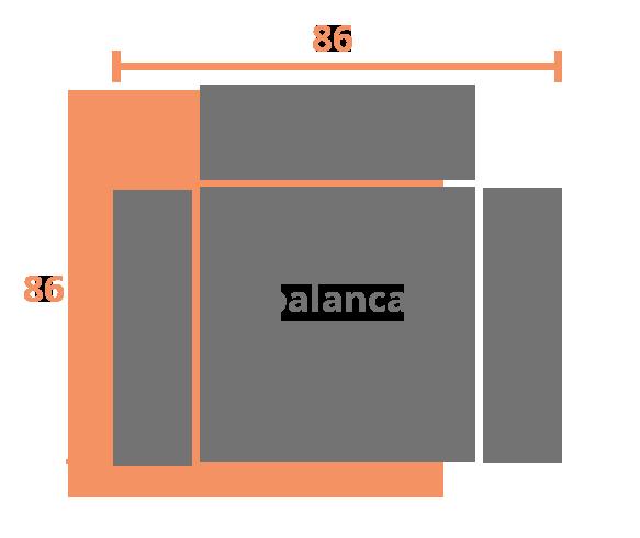 1 plaza 86 PALANCA Modelo Sillón Relax Modelo 505