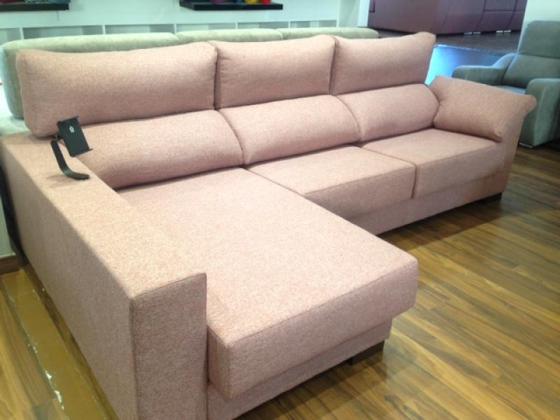 Miniatura del Sofá Chaise Longue Irene Stock (M) | Sofá realizado a medida en nuestra Fábrica de Sofás Valencia