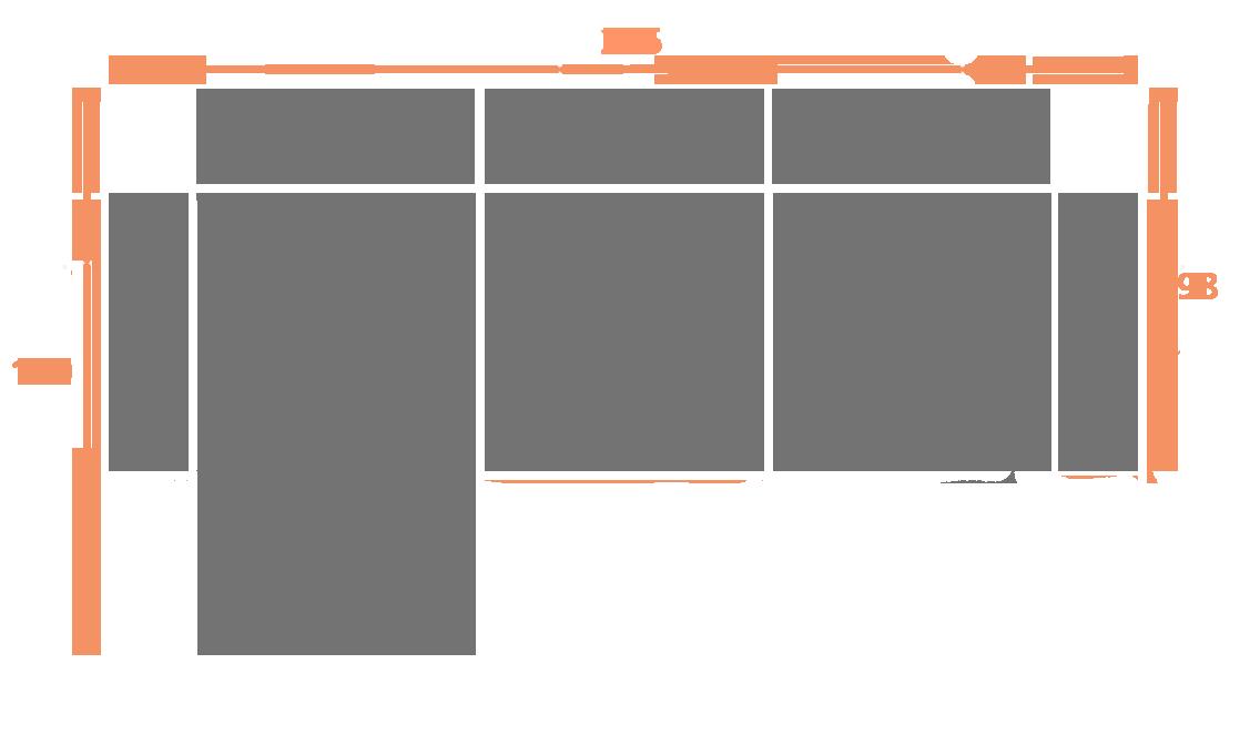 3 plaza + chaise longue 275 IZQ Modelo Sofá Barato Modelo Edén