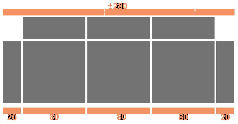 3 plazas 280 Modelo Sofá Entidades Modelo Nápoles