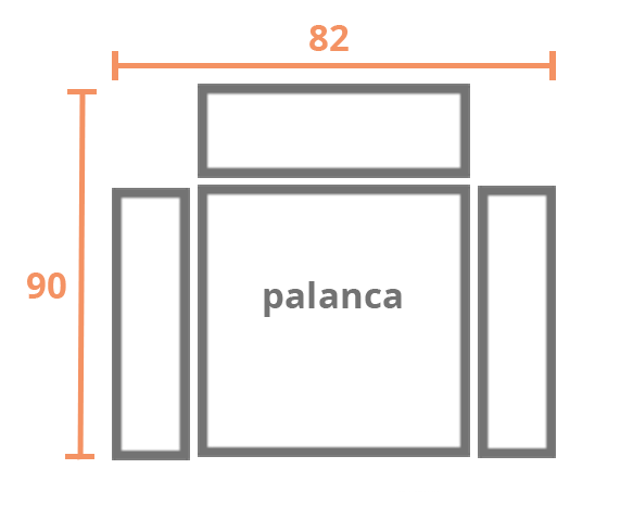 1 plaza 82 PALANCA Modelo Sillón Relax Modelo London