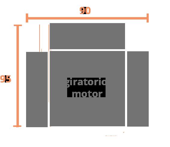 1 plaza 90 GIRATORIO Modelo Sillón Relax Modelo 102