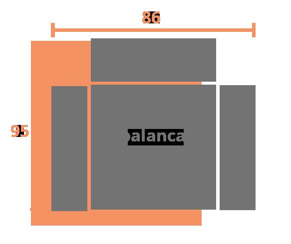 1 plaza 86 PALANCA Modelo Sillón Relax Modelo Zeus