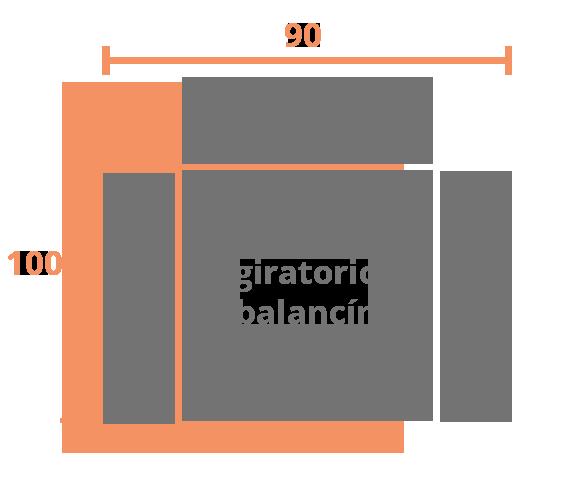 1 plaza 90 BALANCIN Modelo Sillón Relax Modelo 303