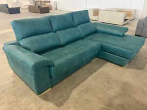 Sofá ejemplo Premium  158 +-Azul Mar 394