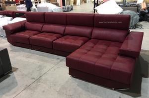 Sofá ejemplo Premium  37 +-Rojo Burdeos 270
