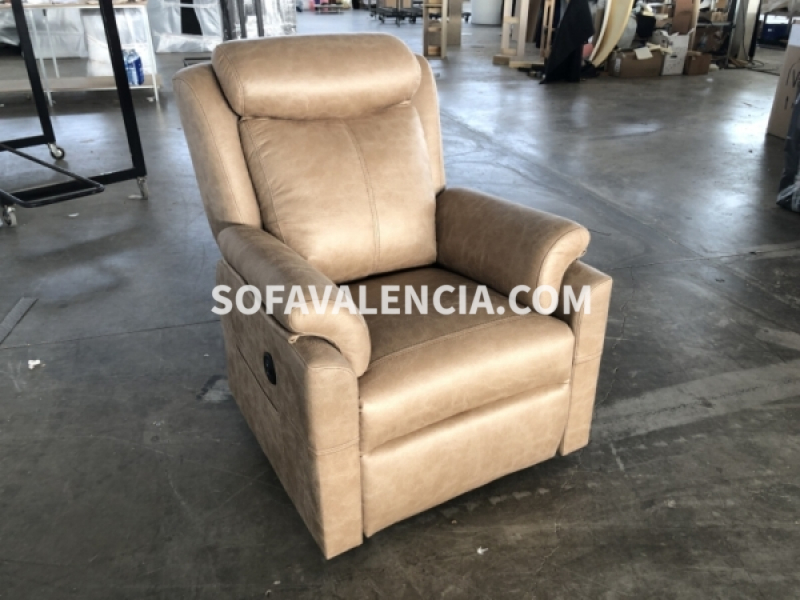 Miniatura del Sillón Relax Alma Stock (A) | Sofá realizado a medida en nuestra Fábrica de Sofás Valencia
