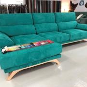 Miniatura 1 del Sofá Chaise Longue Milano Stock (S) | Sofá realizado a medida en nuestra Fábrica de Sofás Valencia