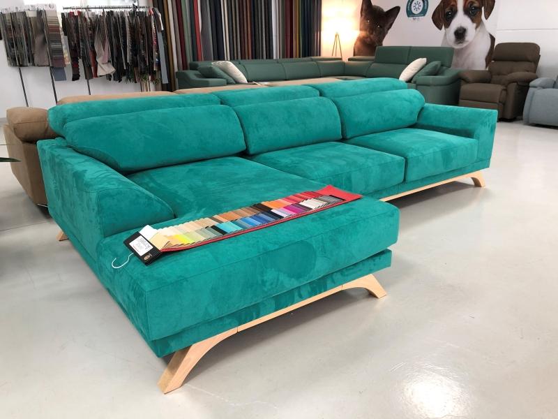Miniatura del Sofá Chaise Longue Milano Stock (S) | Sofá realizado a medida en nuestra Fábrica de Sofás Valencia