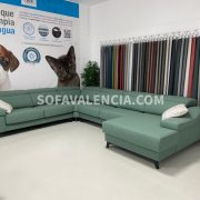 Miniatura Principal del Sofá Rinconera Geo Stock (B) | Sofá realizado a medida en nuestra Fábrica de Sofás Valencia
