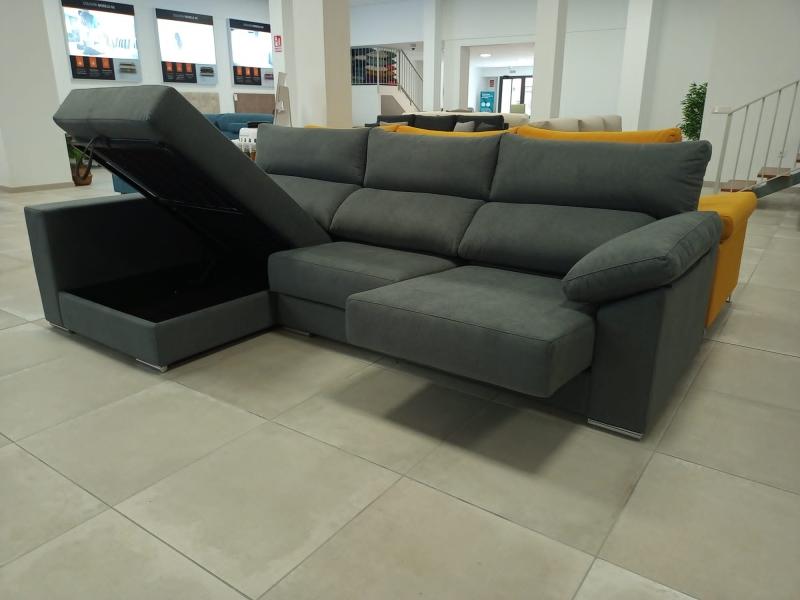 Miniatura del Sofá Chaise Longue Irene Stock (CS) | Sofá realizado a medida en nuestra Fábrica de Sofás Valencia